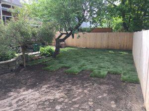 Terrassement, réfection des pentes de terrain